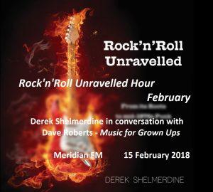 RocknRoll Unravelled Hour Feb Meridian FM