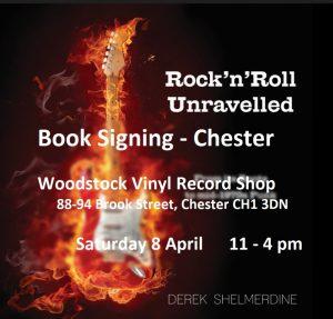 Book Signing Woodstock Vinyl Record Shop