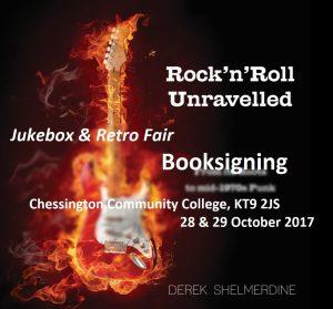 Booksigning Jukebox Retro Fair